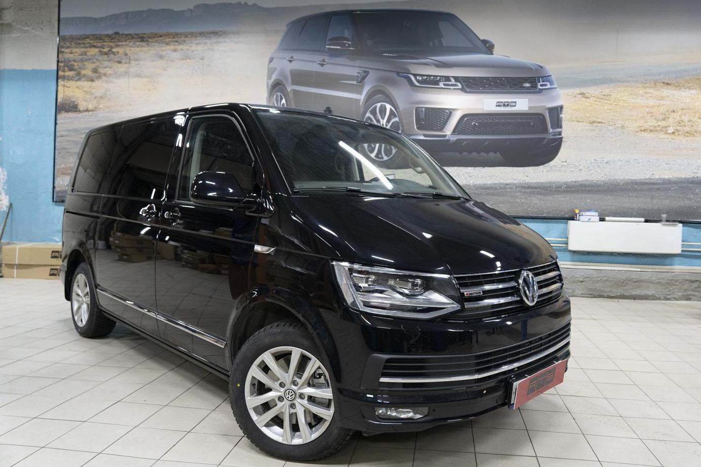 Volkswagen Multivan T6 установка выдвижных порогов ATS
