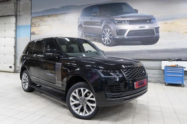 Установка выдвижных электропорогов ATS на Range Rover Vogue 2017