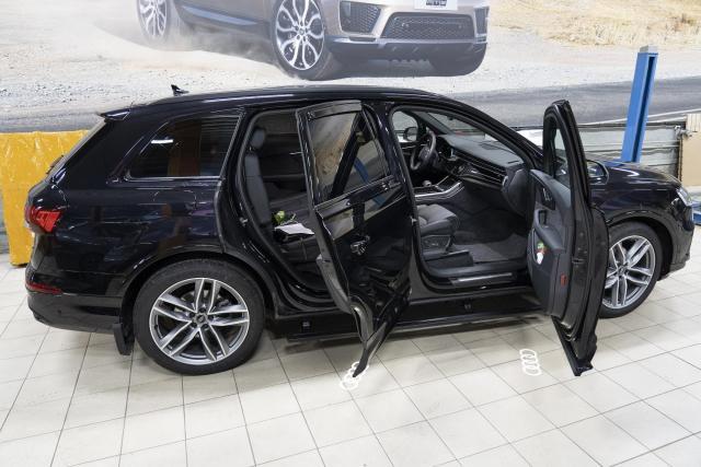 Выдвижные электрические пороги ATS на Audi Q7 2019 - 2021